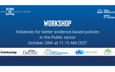 Innovative tools for better evidence-based policy making